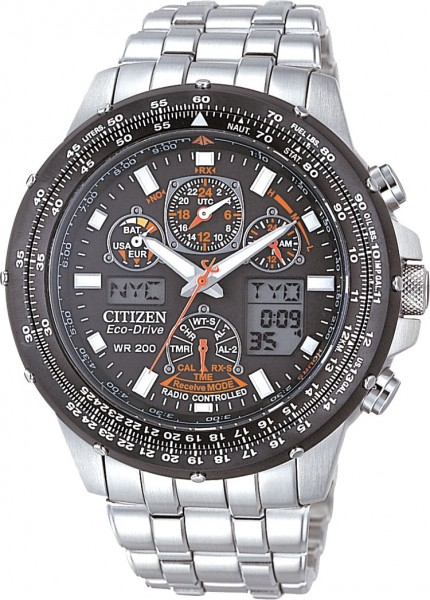 CITIZEN  ECO-DRIVE Herrenuhr Modell Nr. JY0020-64E  Citizen ist Marktführer bei hochwertigen Uhren. Die Uhren sind exclusiv und einzigartig. Diese Uhr funktioniert mit Eco-Drive Antrieb. Natürliches als auch künstliches Licht wird in Energie umgewandelt u