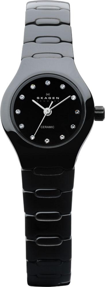 Damenuhren schwarz keramik  SKAGEN Damenuhr Modell Nr. 816XSBXC1 Modische Damenuhr aus dem ...