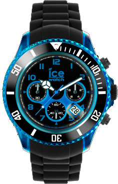 Ice Watch Uhren schwarz blau Ice Chrono ...