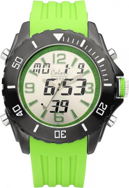 Colori Watch XXL Ø 48mm Chronograph mit...