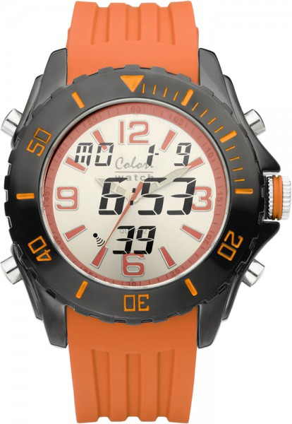 Colori Watch XXL Ø 48mm Chronograph mit...