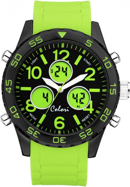Colori Watch XXL Ø 48mm, Chronograph mi...