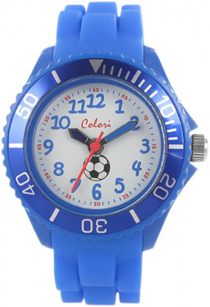 Colori Kids Watch, himmelblau, Silikonuh...