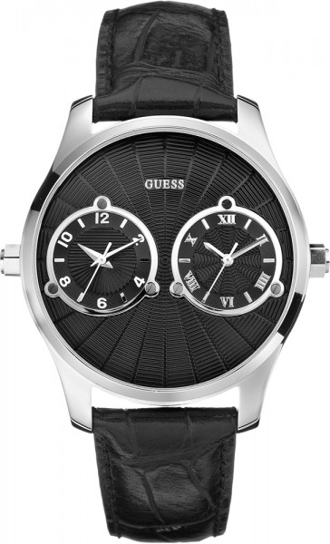 Guess Uhr Duce W70004G2 silber poliertes...