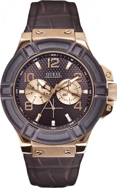 Guess Uhr Rigor W0040G3 hochwertiges Ede...