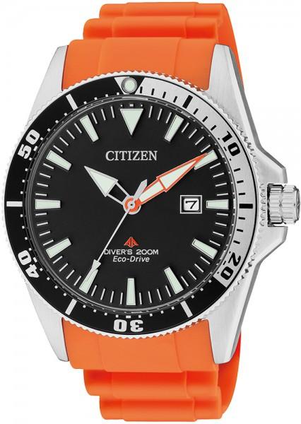 Citizen BN0100-18E Herrentaucheruhr orangefarben