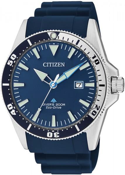 Citizen BN0100-34L Herrentaucheruhr tiefseeblau