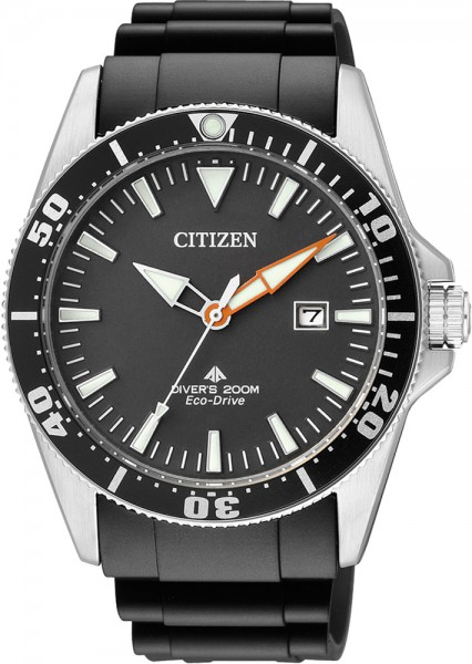 Citizen BN0100-42E Herrentaucheruhr in schwarz