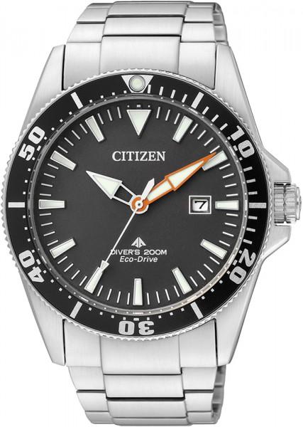 Citizen BN0100-51E Herrentaucheruhr Edelstahl
