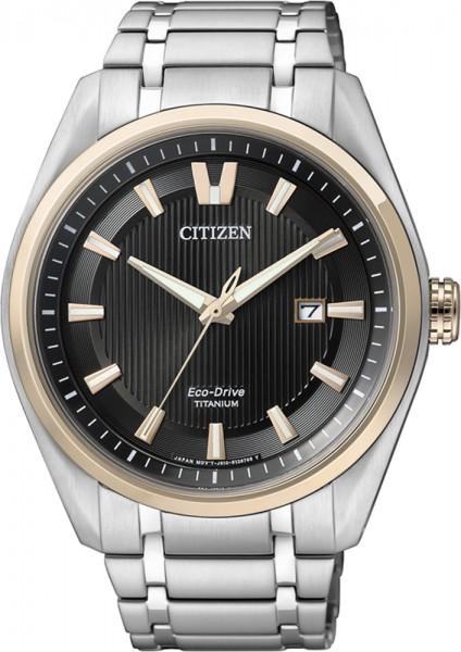 Citizen AW1244-56E Uhr ECO-Drive  Bicolo...