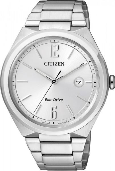 Citizen AW1370-51A Uhr ECO Drive silbern...