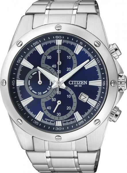 Citizen AN3530-52L Herren Uhr Quarz Werk mit saphirblauem Zifferblatt Durchmesser ca. 44 mm