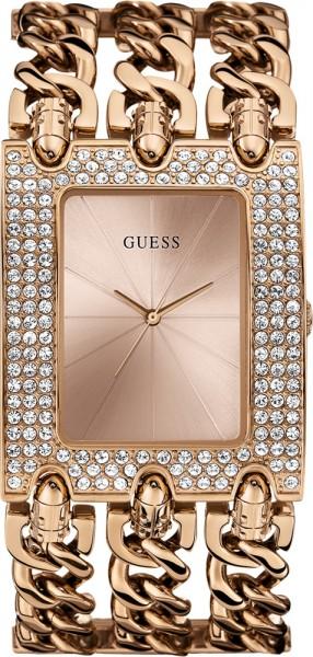 Guess Damen Uhr W0085L3 starkes dreihrei...