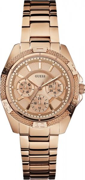 Guess Uhr W0235L3 hochwertiges Edelstahl...