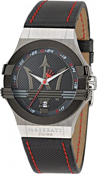 Maserati Uhr Potenza R8851108001 Lederba...