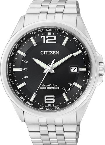 Citizen CB0010-88E  Eco-Drive Armbanduhr mit Solar-Funk-Werk