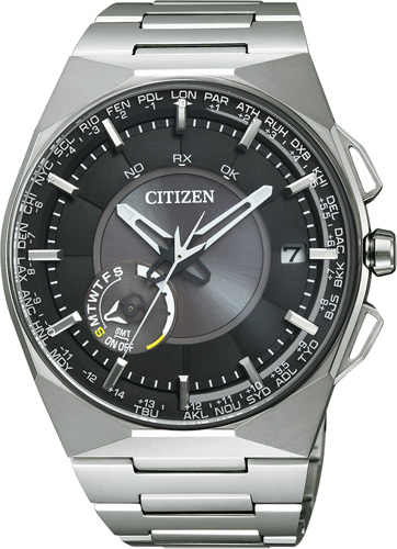 Citizen  CC2006-53E  Satellitenuhr mit S...