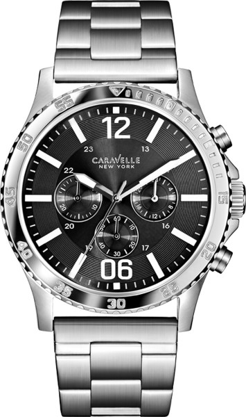 Caravelle New York Herrenuhr 43A115 Shad...
