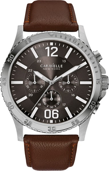 Caravelle New York Uhr 43A128 Military C...