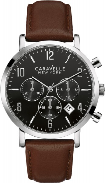 Caravelle New York Uhr 43B140 Military C...