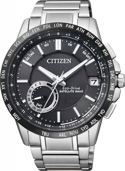 Citizen Eco-Drive Satellite Wave Herrenu...