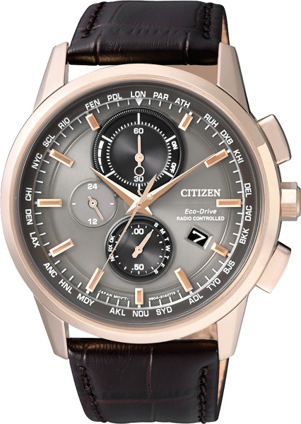 Citizen Eco-Drive Herren-Funkuhr AT8113-...