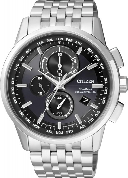 Citizen Eco-Drive Herren-Funkuhr AT8110-...