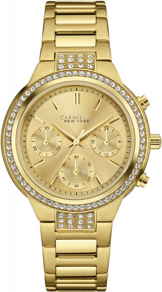Caravelle New York Damenuhr 44L179 Gold