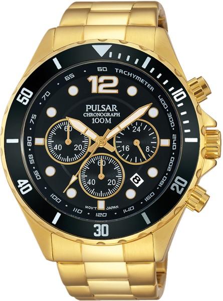 Pulsar Herrenuhr Chronograph PT3720X1 &#...