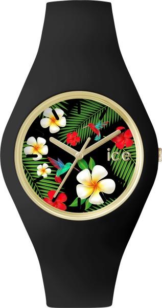 Ice Watch schwarz Uhr ICE.FL.PAR.U.S.15 Ice Flower Paradise