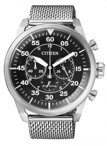 Citizen Uhr CA4210-59E Eco Drive Herren Chronograph Milanaise
