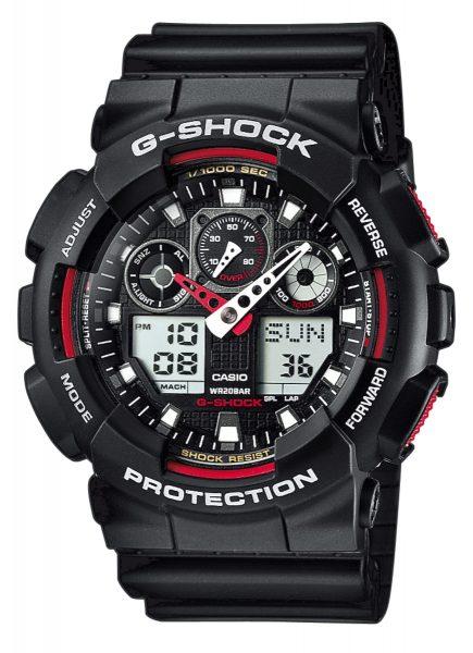 Casio Uhr GA-100-1A4ER G-Shock Herrenuhr...