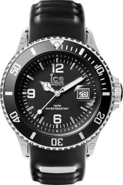 Ice Watch Sporty Black White schwarz SR.3H.BKW.U.S.15 unisex