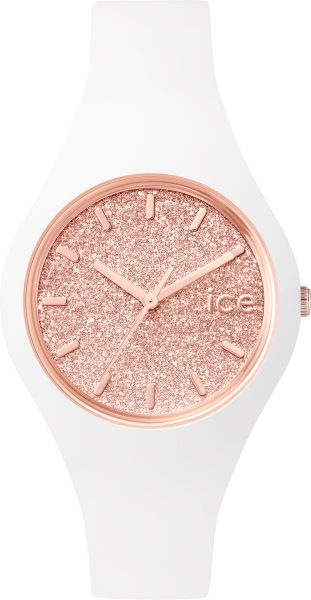 Ice Watch Glitter White Rose gold weiß ...
