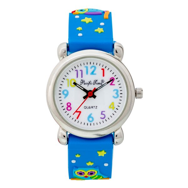 Pacific Time – Kinderuhr Silikon E...