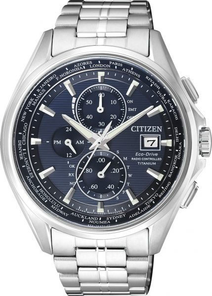 Citizen Uhr AT8130-56L Titan Funkuhr Chronograph Eco Drive