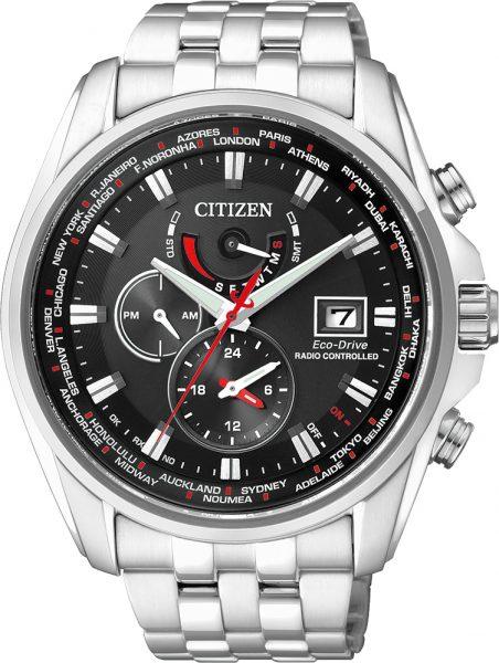 Citizen Uhr AT9030-55E Funkuhr Chronogra...