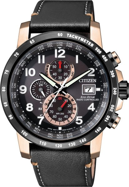 Citizen Uhr AT8126-02E Eco Drive Funkuhr Chronograph Herrenuhren