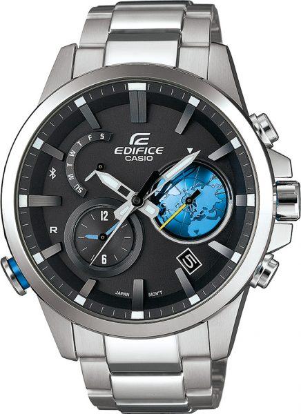 Casio Uhren EQB-600D-1A2ER Edifice Bluet...