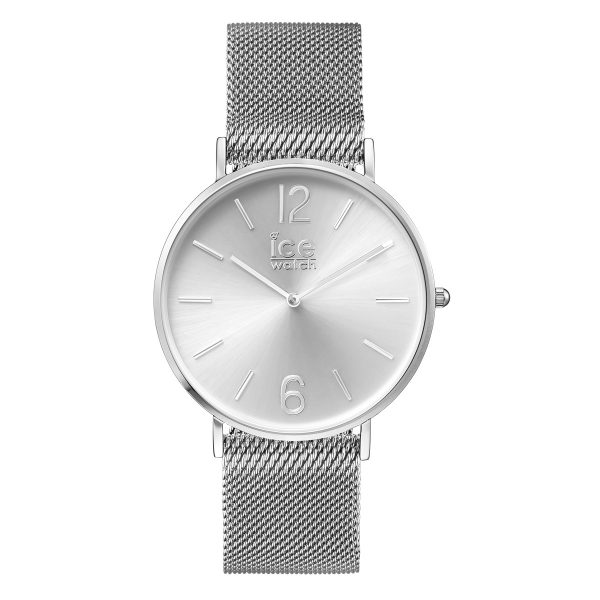Ice Watch Uhr City Milanaise 012702 silber Edelstahlband