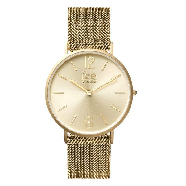 Ice Watch Uhr City Milanaise 012706 goldfarben Edelstahlband