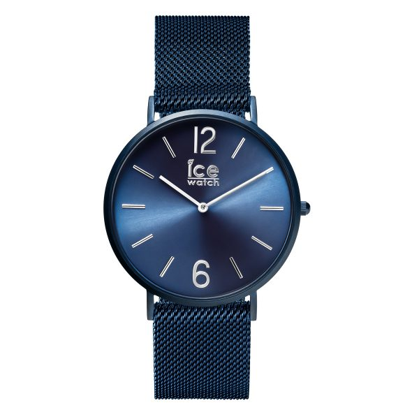 Ice Watch Uhr City Milanaise blau matt 0...