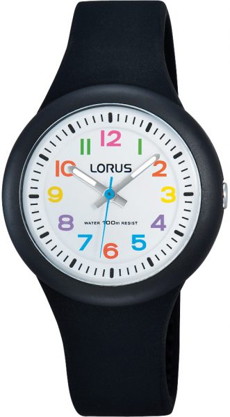 Lorus by Seiko Uhr RRX41EX9 Kinderuhr Silikonband schwarz 10 bar