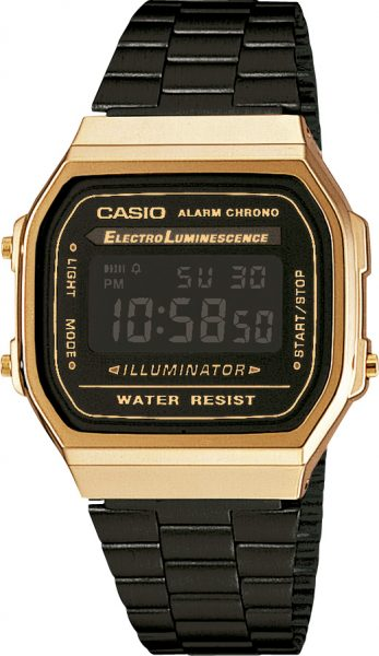 CASIO Uhr A168WEGB-1BEF Collection Retro Digital