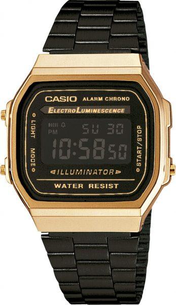 CASIO Uhr A168WEGB-1BEF Collection Retro...