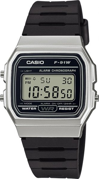CASIO Uhr F-91WM-7AEF Retro Collection D...