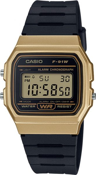 CASIO Uhr F-91WM-9AEF Retro Collection D...
