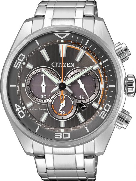 Citizen Herrenuhr CA4330-81H Eco Drive Chronograph