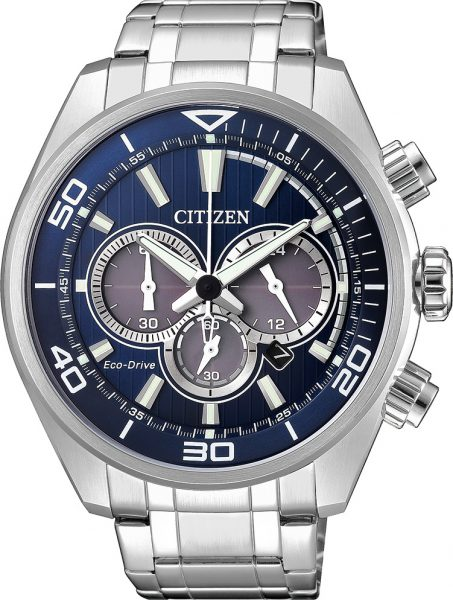 Citizen Herrenuhr CA4330-81L Eco Drive Chronograph