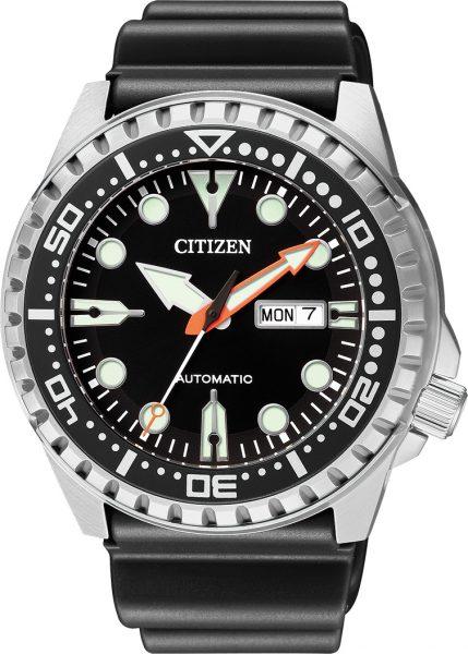 Citizen Herrenuhr NH8380-15EE Automatik Werk Edelstahl